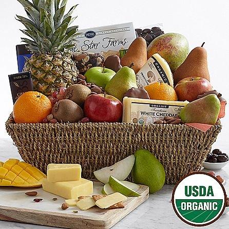 Ultimate Fresh Fruits Basket - Same Day Gift Baskets Delivery - Fresh Fruit Baskets - Fruit Basket Delivery - Organic Fruit Baskets - Best Gift Baskets by eshopclub