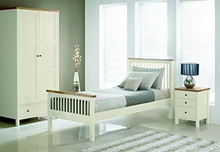 Bentley Designs Atlantis Two Tone Bedroom Set With Single Bed Cool Atlantis Bedroom Furniture