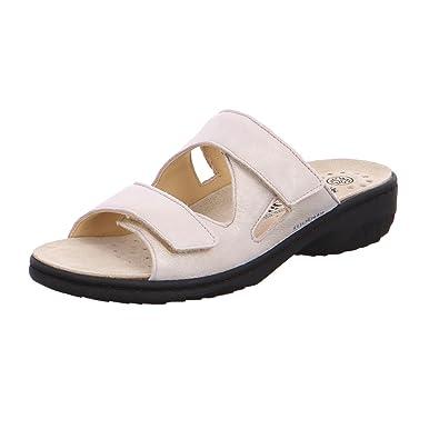 d0b63cfca15 Mephisto Sandales GEVA - Noir  Amazon.fr  Chaussures et Sacs
