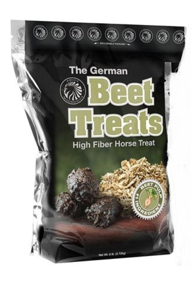 German Horse 6 lb Pony Training Bite Size BEET PULP High Fiber Content Treats Nuggets Muffins Snacks