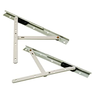 Prime-Line Products TH 23088 Concealed Hinges, 10 Inch, Steel, E-Gard Corrosion Resistant Coating Pack of 1 Pair
