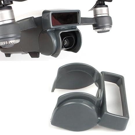 Flycoo Parasol para cámara DJI Spark Drone cámara anti-reflejo sunhood cardán protector de la