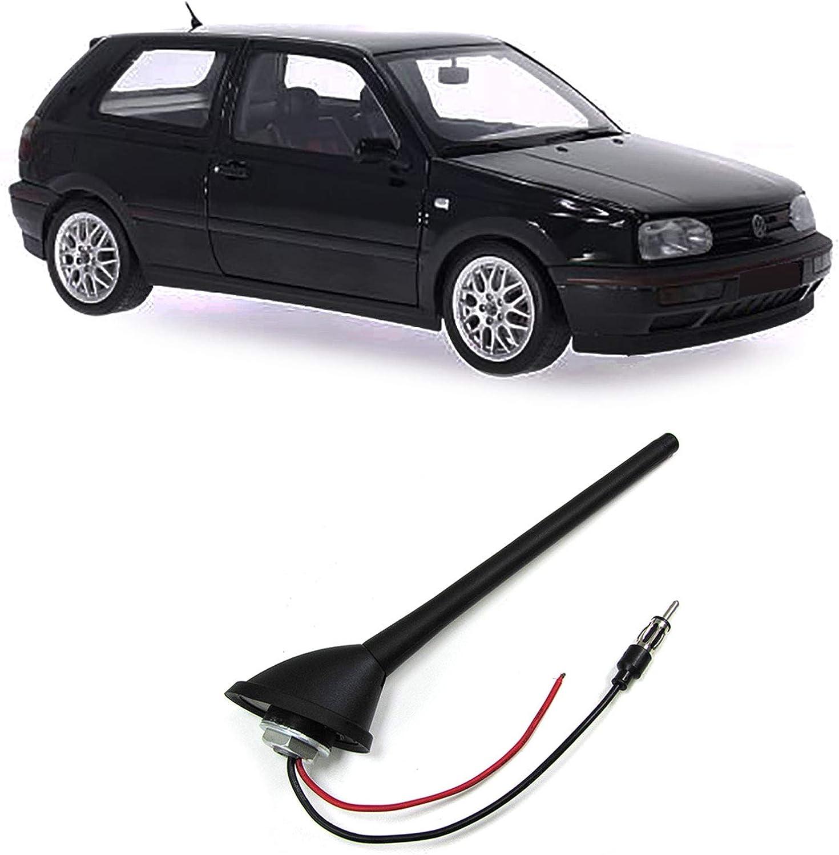 Carparts Online Gmbh 26460 Universal Kurzstab Antenne Mit Fuss Und Dichtung Verstellbar 16v Look Flex Auto