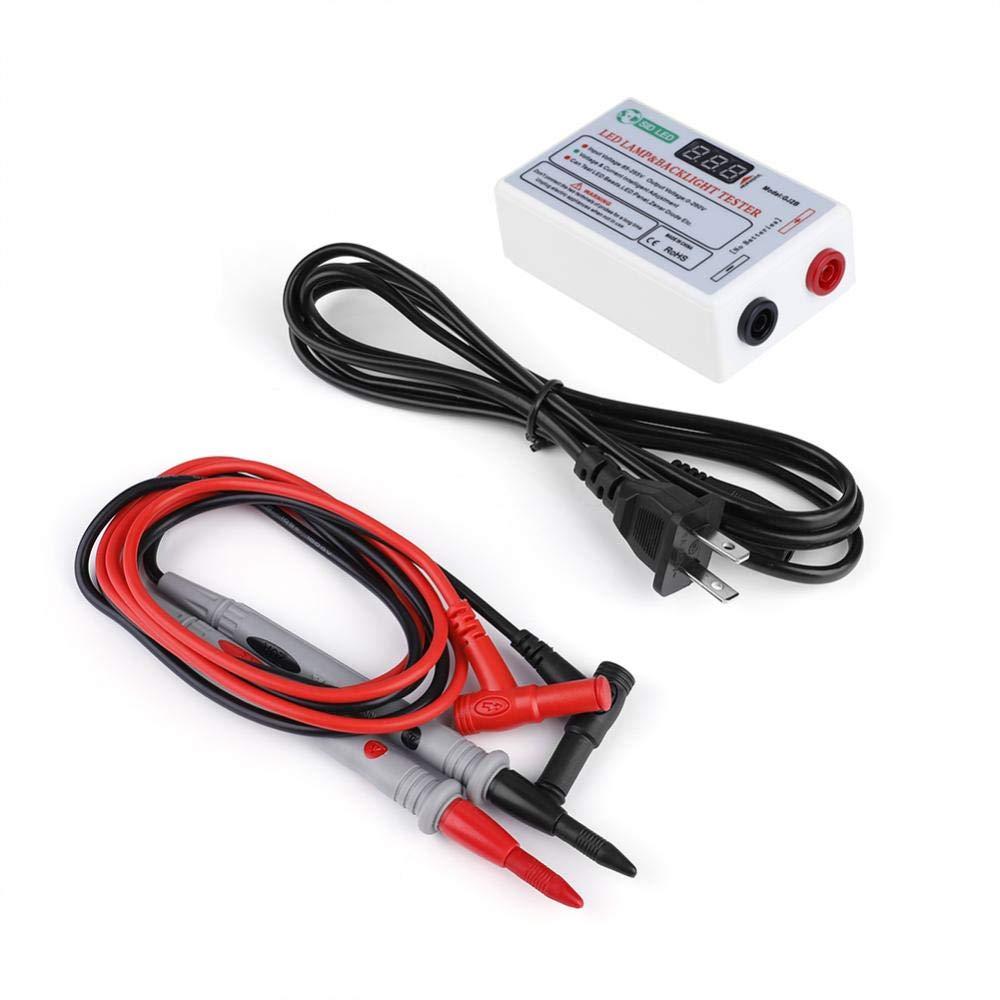 Akozon GJ2B Multi-functional LCD LED TV Backlight Tester Lamp Beads Testing Tool 0-220V Output(US plug)