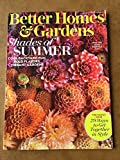BETTER HOMES AND GARDENS MAGAZINE August 2017 FAMILY ISSUE Backyard Fun DAHLIAS