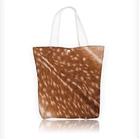 Amazon.com: Bolso bandolera de lona con capa de textura para ...