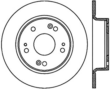 StopTech 128.40068R Cross Drilled Rotor