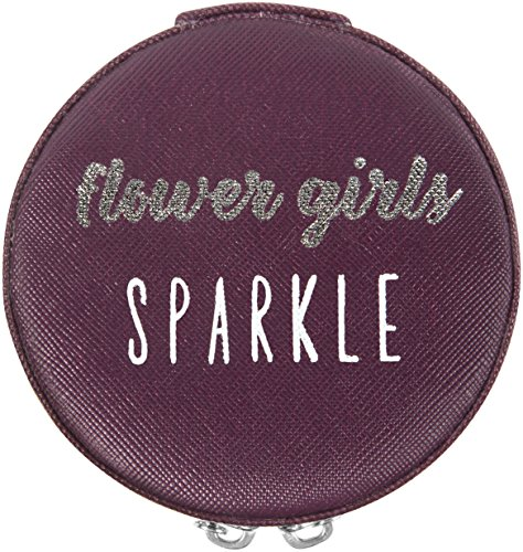Pavilion Gift Company Flower Girls Sparkle Jewelry Case