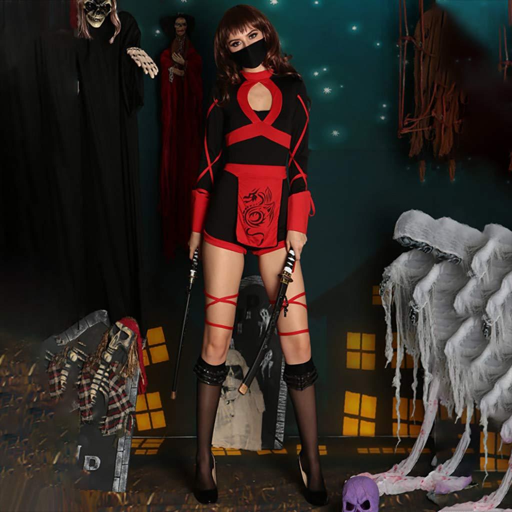 Disfraz de Bruja Mujer Cosplay Bushido Japonés Ninja ...