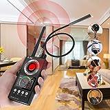 JMDHKK Anti Spy RF Signal Detector Bug Detector, Camera Finder Scanner, GPS Tracker Detector, Find and Locate Eavesdropping D
