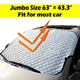 Windshield Sunshade UV Ray Reflector All Season Window Shade Auto Window Sun Shade Visor Shield Cover, Fit for Most Car, SUV, Truck, Van