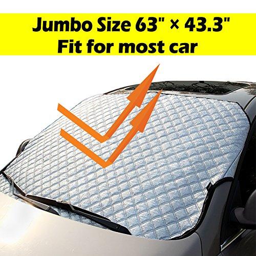 Windshield Sunshade UV Ray Reflector All Season Window Shade Auto Window Sun Shade Visor Shield Cover, Fit for Most Car, SUV, Truck, Van (Reflector Auto)