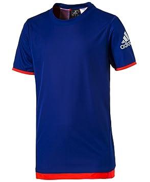 adidas Reversible Camiseta, Niño, Azul, 8-9 años: Amazon.es ...