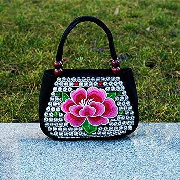 GTVERNH-Bolsos De Mujer Bordados Bolsos Bolsas De Lona Cero Carteras Mini Bolsos Bolsas Pequeñas G: Amazon.es: Deportes y aire libre