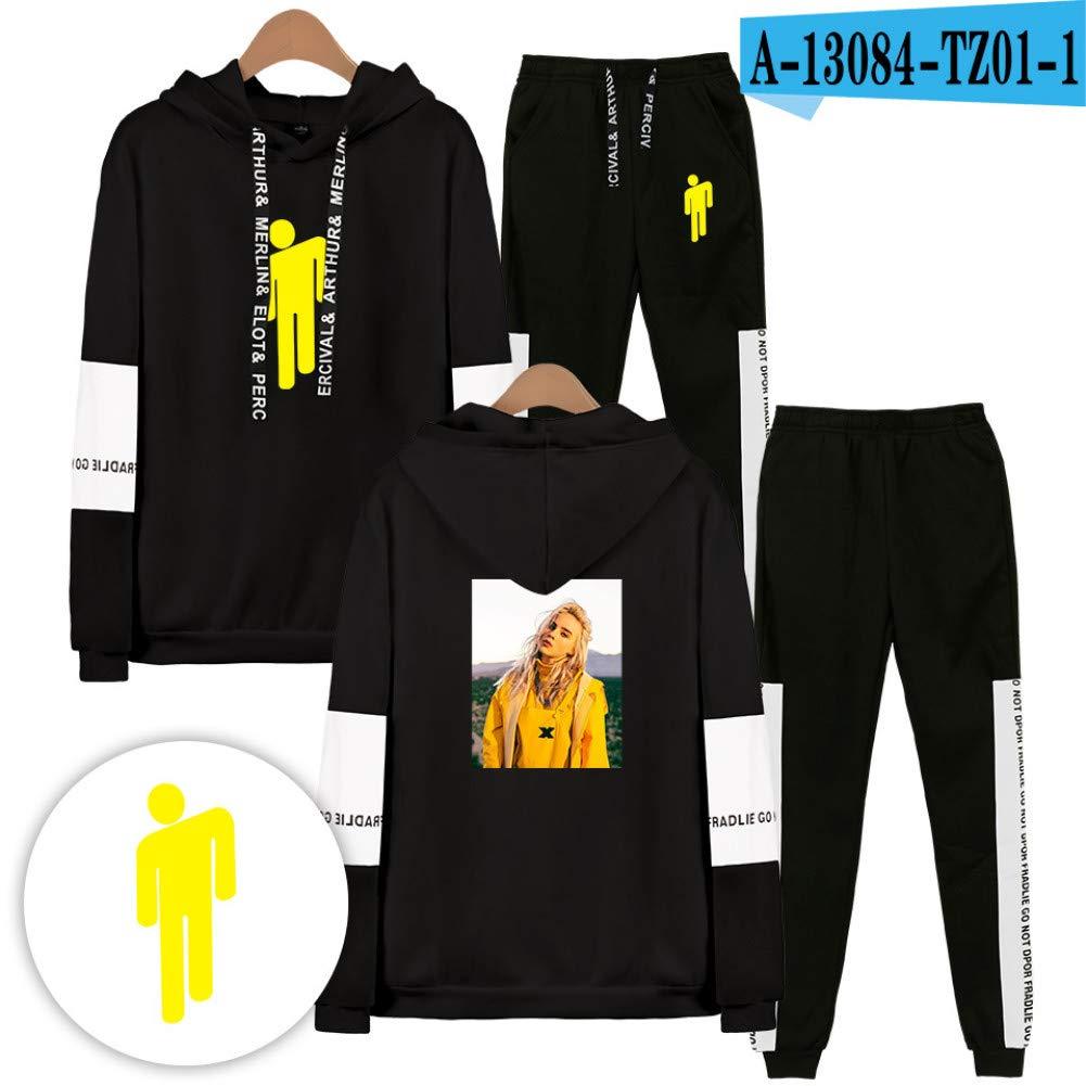 LSZHKL Streetwear Sudadera con Capucha Sudadera Jersey ...