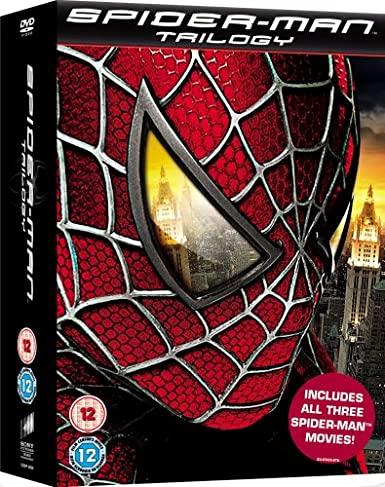 Spider-Man Trilogy [DVD]: Amazon co uk: Tobey Maguire, Kirsten Dunst