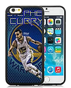 100% brand new Golden State Warriors Stephen Curry 4 Black iPhone 6 (4.7 Inch) TPU Case