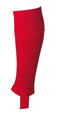Uhlsport Senior - Calcetines de fútbol infantil, tamaño único, color rojo