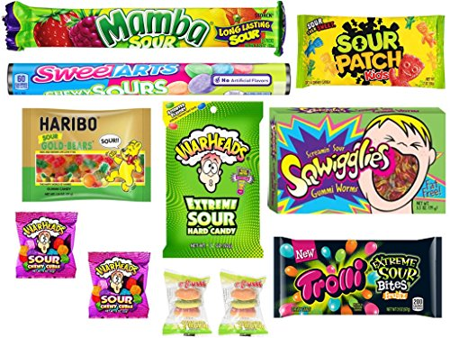 Mini Sour Sack Variety Featuring