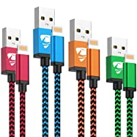 iPhone Charger Cord 4Pack iPhone Charger Cable MFi Certified Lightning Cable Fast...