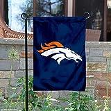 Denver Broncos Window and Garden Banner 15-1/2 IN. x 10-1/2 IN.