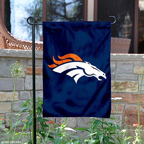 Buy party animal denver broncos applique garden flag