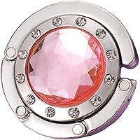 Desconocido Bolso Redondo de Diamantes de imitación, Percha