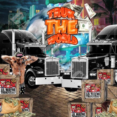 10x10 Club Truk The World Hip Hop Background Backd...