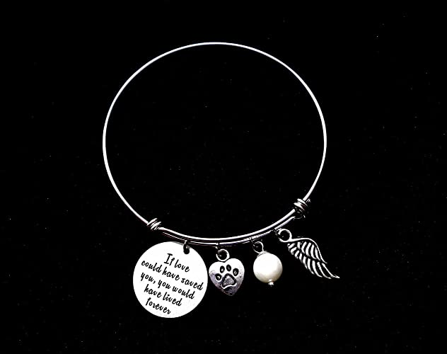 collections lasting for bracelet gifts impressions ct memorial large img dog pet sympathy loss