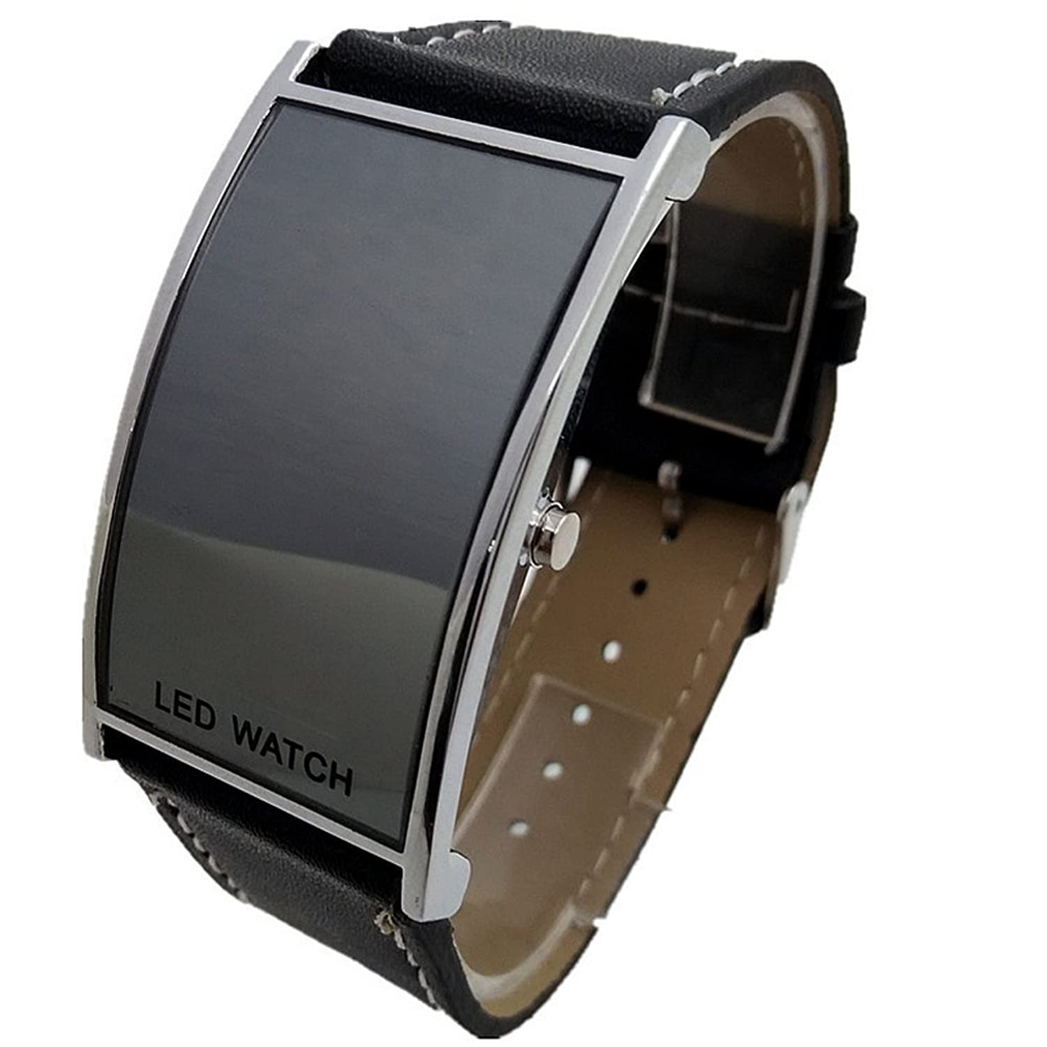 Montre miroir led watch 35302 miroir id es for Miroir noir watch online