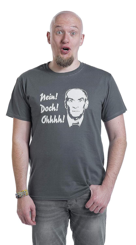 Louis de Fun/ès Nein Ohhhh Doch T-Shirt dunkelgrau