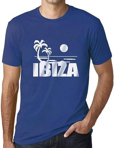 Ultrabasic - Camiseta para Hombre Ibiza Impreso Letras ...