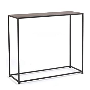 Captivating Tag   Urban Console Table, A Perfect Addition To Any Home, Mild Steel Top