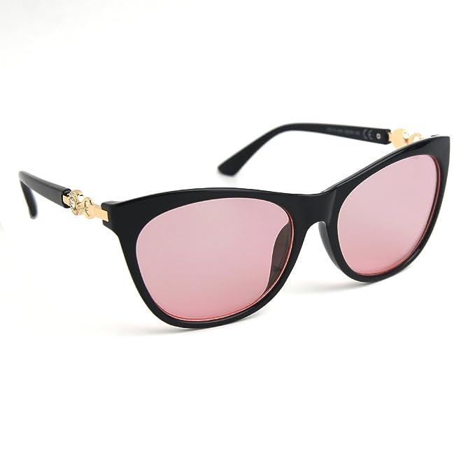 Amazon.com: JOOX cuadrado grande anteojos de sol con borde ...