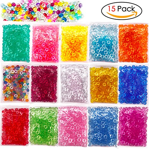 Fluffy Slime Prevently New Fishbowl Beads Colorful Beads for Crunchy Homemade Slime DIY Crafts Party