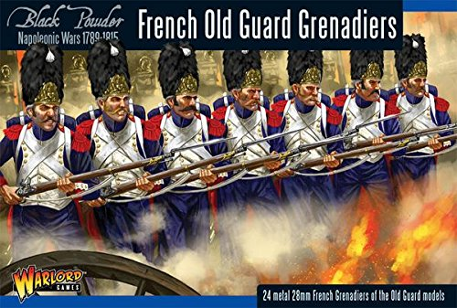 Black Powder, Napoleonic Wars, French Late Grenadiers of the Guard, 28mm Warlord games miniatures by Black Powder