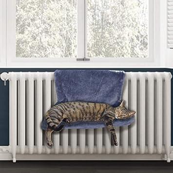 PetPäl Cama radiador Cama acogedora para Gatos para la calefacción | La Cama Gatos con Hueco