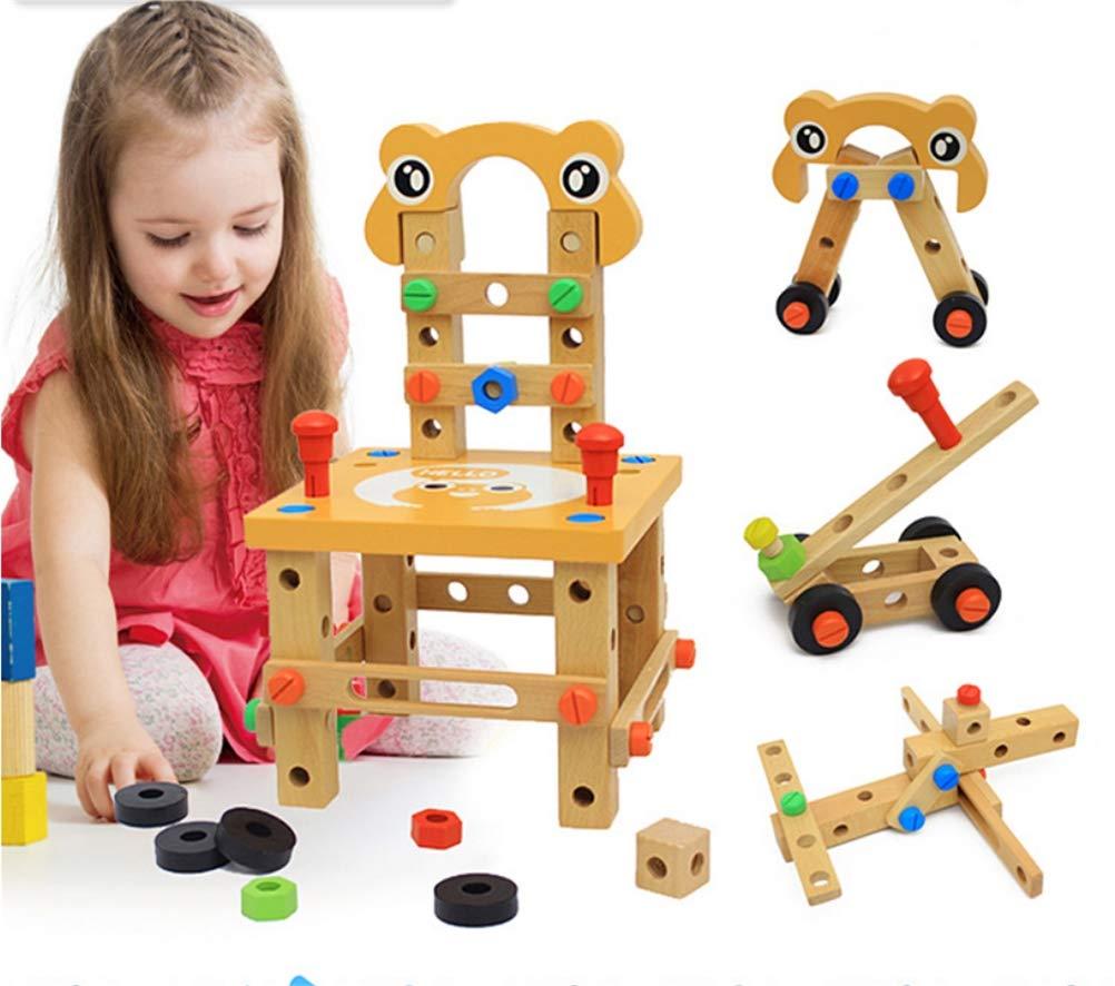 Jiahe Multifunktionale Demontage Luban Stuhlmutter Werkzeug Montage Kit Kinder DIY Manuelle Montage Lernspielzeug