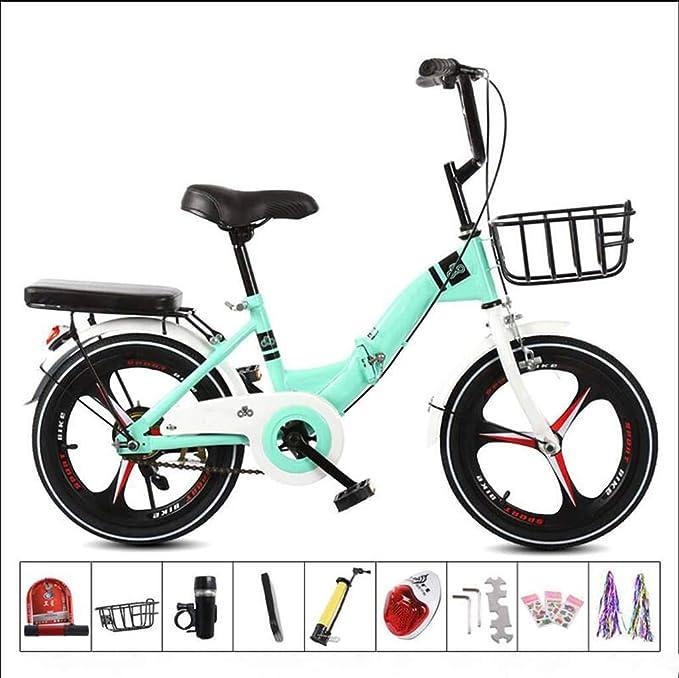 Bove Single Speed Folding Bicicleta Plegable Amortiguadores ...