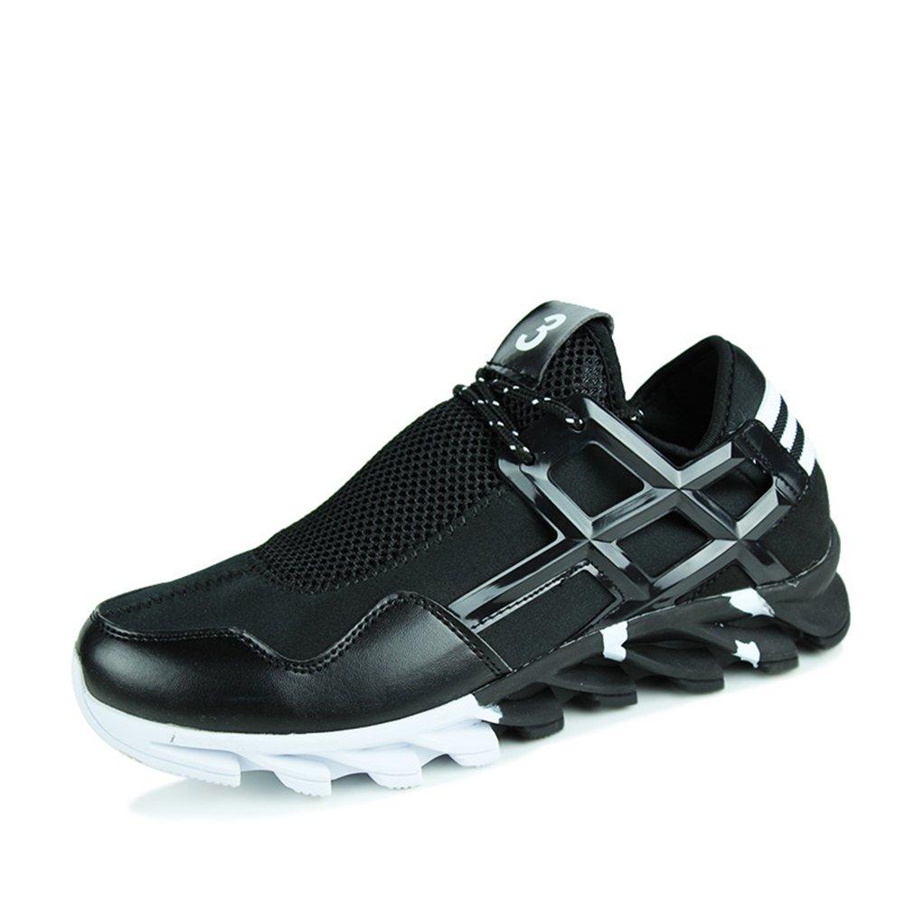 Suetar Zapatos Deportivos Ocasionales de la Moda para Hombre Zapatillas de Malla Transpirable de Primavera y Verano 39 EU / 245mm Black
