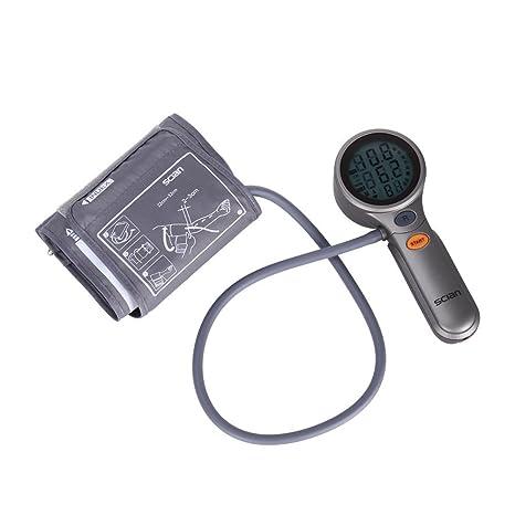 coolyoo scian – Tensiómetro electrónico de brazo calentador tensión gran precisión para medir la tensión