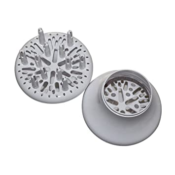 Xinvision Peluquería Secadores Difusor Secador Ondulado - Reemplazo Difusor & Viento Cover para Secador de Cabello