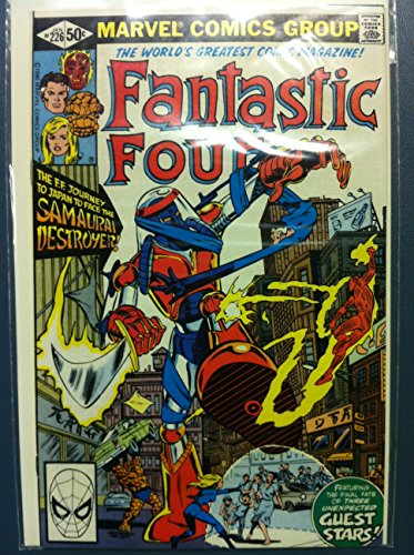 Fantastic Four #226 The Samurai Destoyer Jan 81 Near-Mint (7 out of 10) Very Lightly Used by Mickeys Pubs