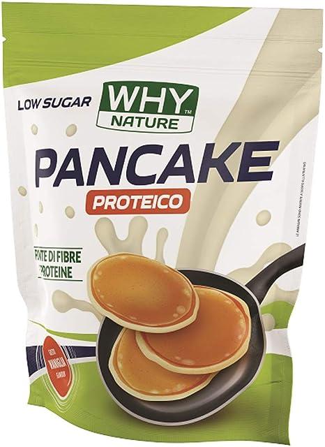 Preparato per pancake proteico 1 kg vaniglia - why nature 8055271483528