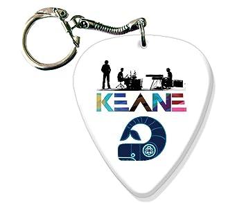 Keane BIG Guitarra Pick Llavero Band Púa Para: Amazon.es ...