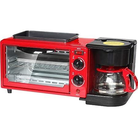 DXDCV Cafetera Tostadora Oven Griddle Home Máquina multifunción ...