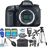 Canon EOS 7D Mark II Digital SLR Camera (Body Only) [International Version] (Advanced Bundle)
