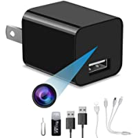 1080P small home camera, portable plug-and-play home camera, without WiFi plug, it can record cyclically, compatible…
