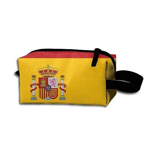LKJHG Bandera Española Mujer Neceser de Viaje Niñas Oxford ...