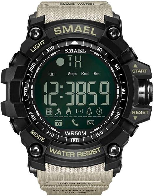 Simshew Rastreador de Ejercicios SMAEL 1617B Bluetooth Smart Watch ...